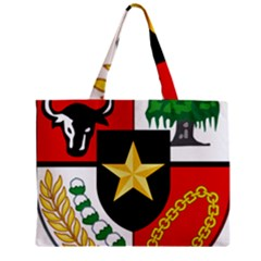 Shield Of National Emblem Of Indonesia Mini Tote Bag by abbeyz71