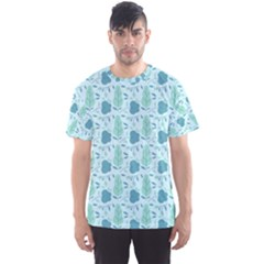 Seamless Floral Background  Men s Sport Mesh Tee