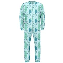 Seamless Floral Background  Onepiece Jumpsuit (men)
