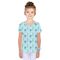 Seamless Floral Background  Kids  One Piece Tee