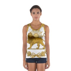 Lion & Sun Emblem Of Persia (iran) Women s Sport Tank Top  by abbeyz71