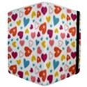 Colorful Bright Hearts Pattern Samsung Galaxy Tab 8.9  P7300 Flip Case View4