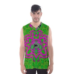 Vegetarian Art With Pasta And Fish Men s Basketball Tank Top