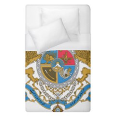 Sovereign Coat Of Arms Of Iran (order Of Pahlavi), 1932 1979 Duvet Cover (single Size) by abbeyz71