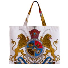 Sovereign Coat Of Arms Of Iran (order Of Pahlavi), 1932 1979 Zipper Mini Tote Bag by abbeyz71