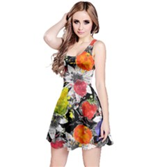 Colorful Fruit Reversible Sleeveless Dress