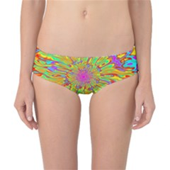 Magic Ripples Flower Power Mandala Neon Colored Classic Bikini Bottoms