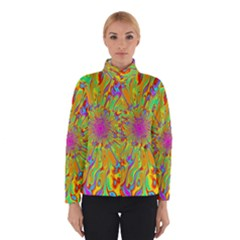 Magic Ripples Flower Power Mandala Neon Colored Winterwear