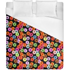 Colorful Yummy Donuts Pattern Duvet Cover (california King Size)