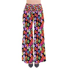 Colorful Yummy Donuts Pattern Pants by EDDArt