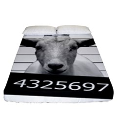 Criminal Goat  Fitted Sheet (king Size)