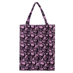 Skulls Pattern  Classic Tote Bag by Valentinaart
