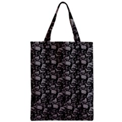 Skulls Pattern  Zipper Classic Tote Bag by Valentinaart