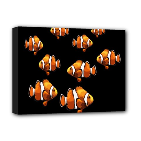 Clown Fish Deluxe Canvas 16  X 12