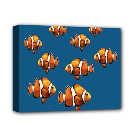 Clown Fish Deluxe Canvas 14  X 11