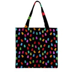 Candy Pattern Grocery Tote Bag by Valentinaart