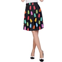Candy Pattern A-line Skirt by Valentinaart