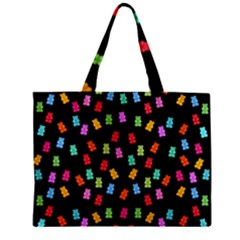 Candy Pattern Zipper Mini Tote Bag by Valentinaart