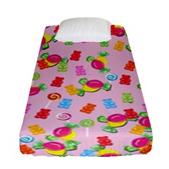 Candy Pattern Fitted Sheet (single Size)