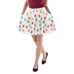 Candy Pattern A Line Pocket Skirt by Valentinaart