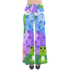 Animals Frog Face Mask Green Flower Floral Star Leaf Music Pants by Mariart