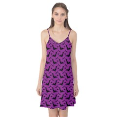 Animals Bad Black Purple Fly Camis Nightgown by Mariart