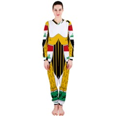Coat Of Arms Of Iraq  Onepiece Jumpsuit (ladies)