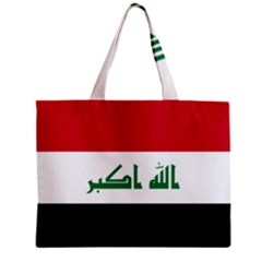 Flag Of Iraq Zipper Mini Tote Bag by abbeyz71