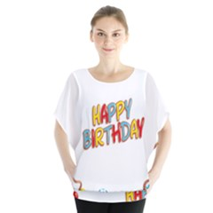 Happy Birthday Blouse by Mariart