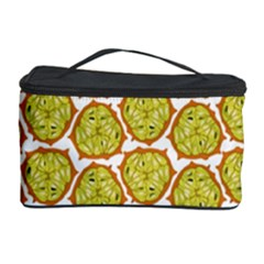 Horned Melon Green Fruit Cosmetic Storage Case by Mariart