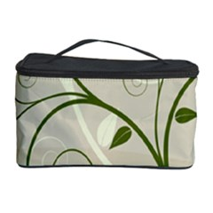 Leaf Sexy Green Gray Cosmetic Storage Case by Mariart