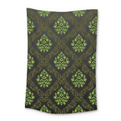 Leaf Green Small Tapestry by Mariart