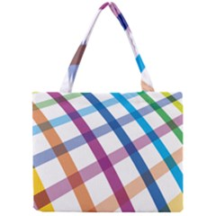 Webbing Line Color Rainbow Mini Tote Bag by Mariart