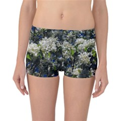 Floral Skies 2 Reversible Bikini Bottoms by dawnsiegler