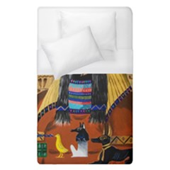 Anubis Duvet Cover (single Size) by dawnsiegler