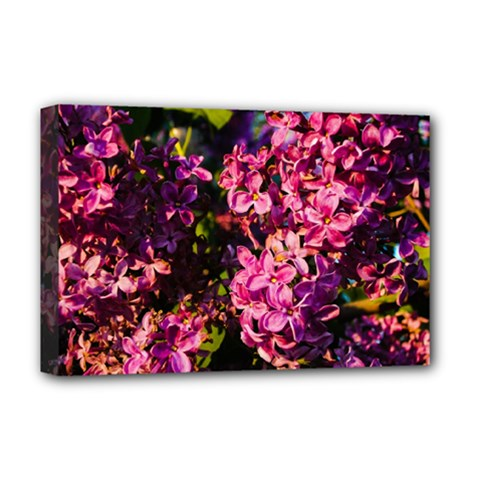 Lilacs Deluxe Canvas 18  X 12   by dawnsiegler