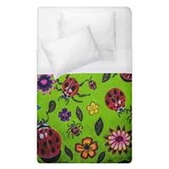 Lucky Ladies Duvet Cover (single Size) by dawnsiegler