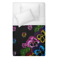 Floral Rhapsody Pt 1 Duvet Cover (single Size) by dawnsiegler