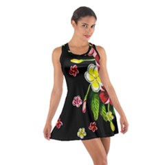 Floral Rhapsody Pt 2 Cotton Racerback Dress