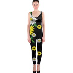 Floral Rhapsody Pt 3 Onepiece Catsuit by dawnsiegler