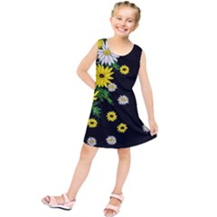 Floral Rhapsody Pt 3 Kids  Tunic Dress by dawnsiegler