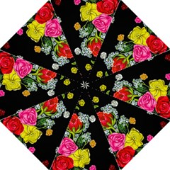 Floral Rhapsody Pt 4 Folding Umbrellas by dawnsiegler