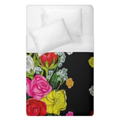 Floral Rhapsody Pt 4 Duvet Cover (single Size) by dawnsiegler