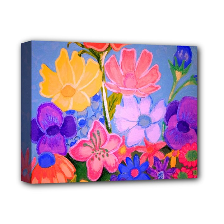 Spring Pastels Deluxe Canvas 14  x 11