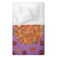 Floral Sphere Duvet Cover (single Size) by dawnsiegler