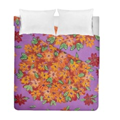 Floral Sphere Duvet Cover Double Side (full/ Double Size) by dawnsiegler