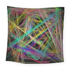 Colorful Laser Lights            Fleece Blanket by LalyLauraFLM