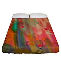 Painting             Fitted Sheet (king Size)