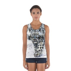 Snow Leopard 1 Women s Sport Tank Top