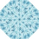 Watercolor Palms Pattern  Hook Handle Umbrellas (Small) View1